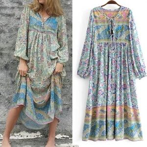 Dresses & Skirts - Oasis Maxi DRESS Boho Opal NEW